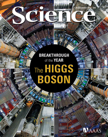 Science Higgs Breakthrough of the year