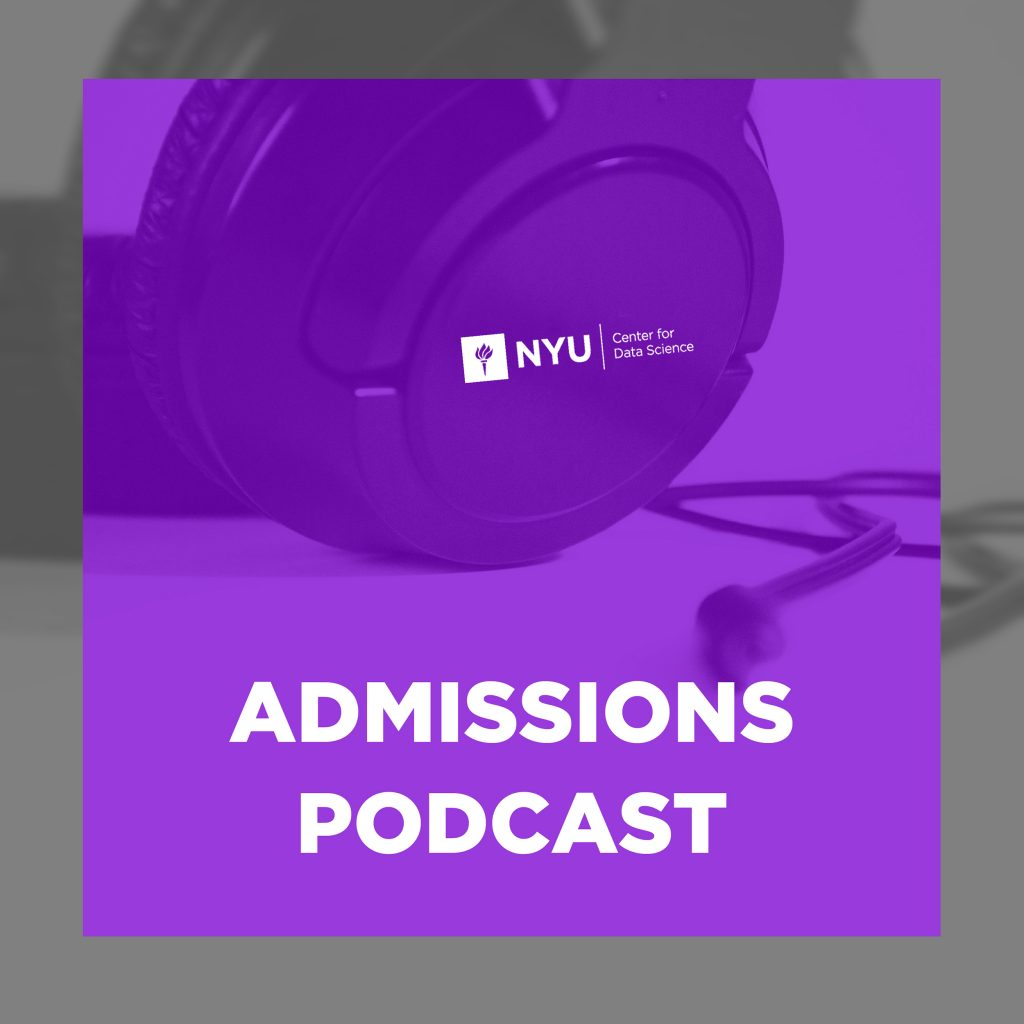 admissions podcast logo