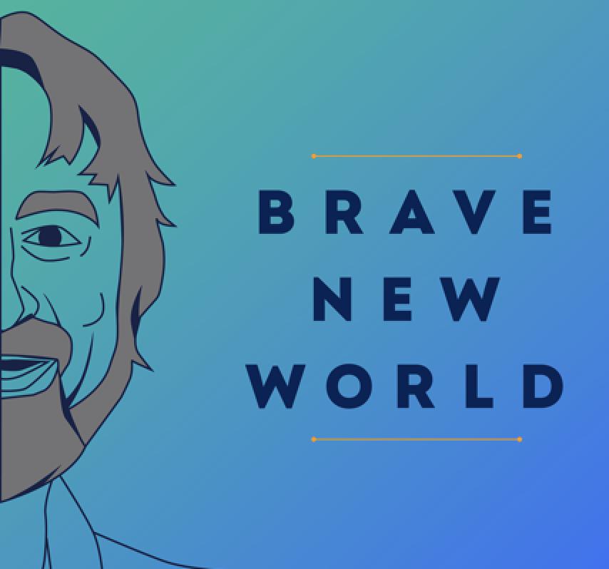 brave new world podcast logo